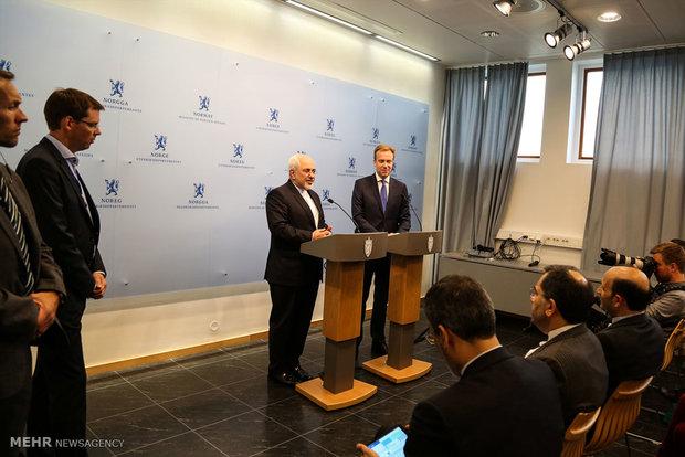 دیدار وزرای خارجه ایران و نروژ