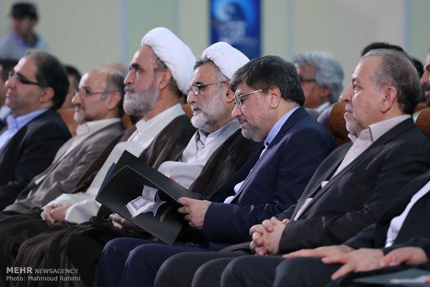 افتتاح بیست و چهارمین نمایشگاه قرآن کریم