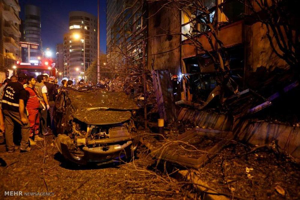 انفجار بمب در بیروت