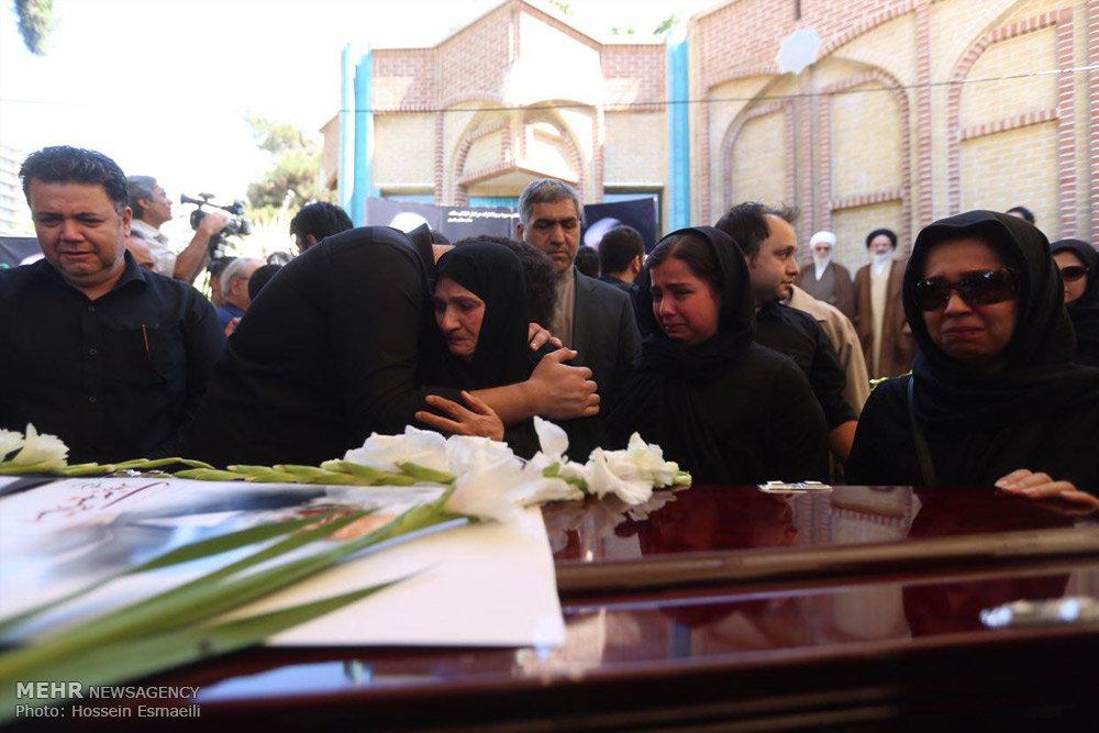 تشییع پیکر زنده یاد حمید سبزواری