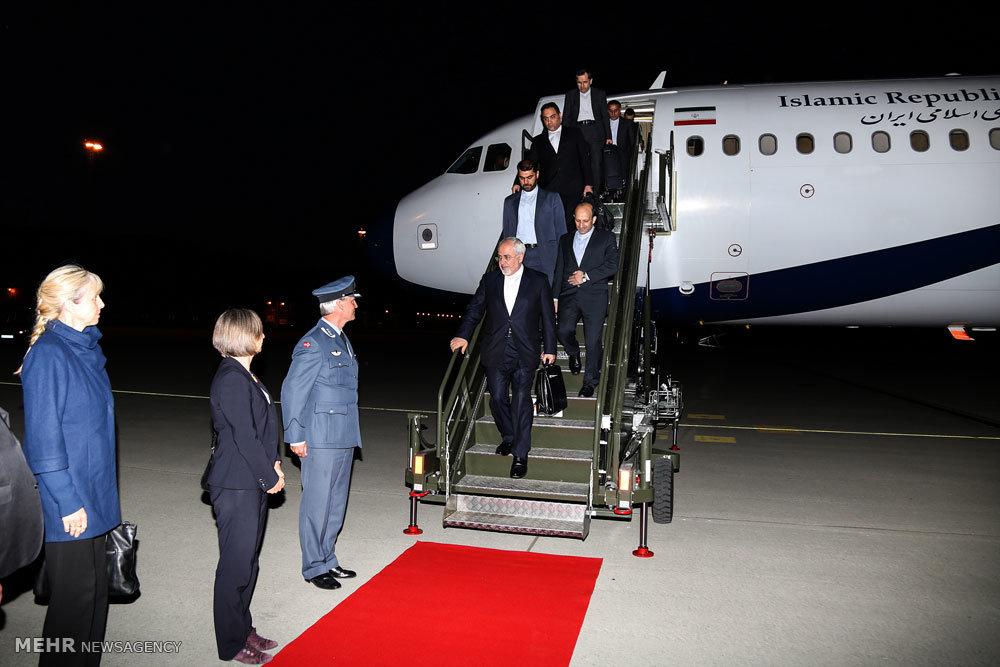 ورود وزیر امور خارجه به نروژ