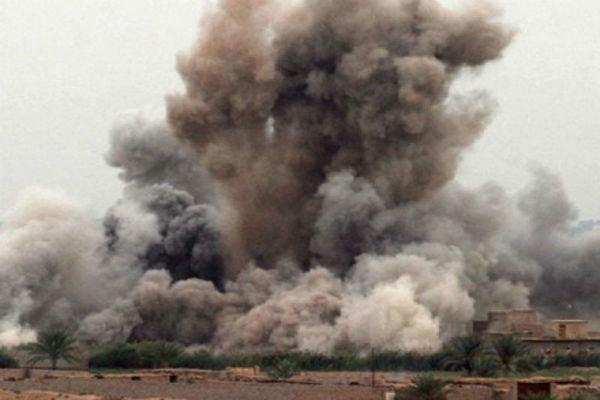 ده ها کشته و زخمی در حمله هوایی به شهر «القائم» در غرب عراق