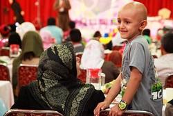 همراهی هنرمندان با کودکان مبتلا به سرطان