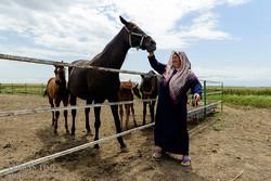 Iranian Turkmen women