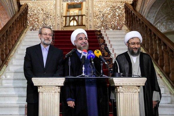 Iran's heads of three branches summit kicks off