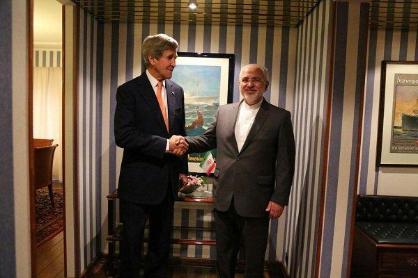 اوسلو میں جواد ظریف اور جان کیری کی باہمی ملاقات