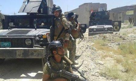 القوات الامنية العراقية تصد هجوما انتحاريا على مقر عسكري شمال بغداد