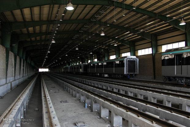 ورود ناوگان خط دو مترو مشهد