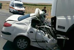 ۲۰۸ مورد تصادف به اورژانس قم گزارش شد