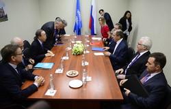 Lavrov, Ban, SPIEF