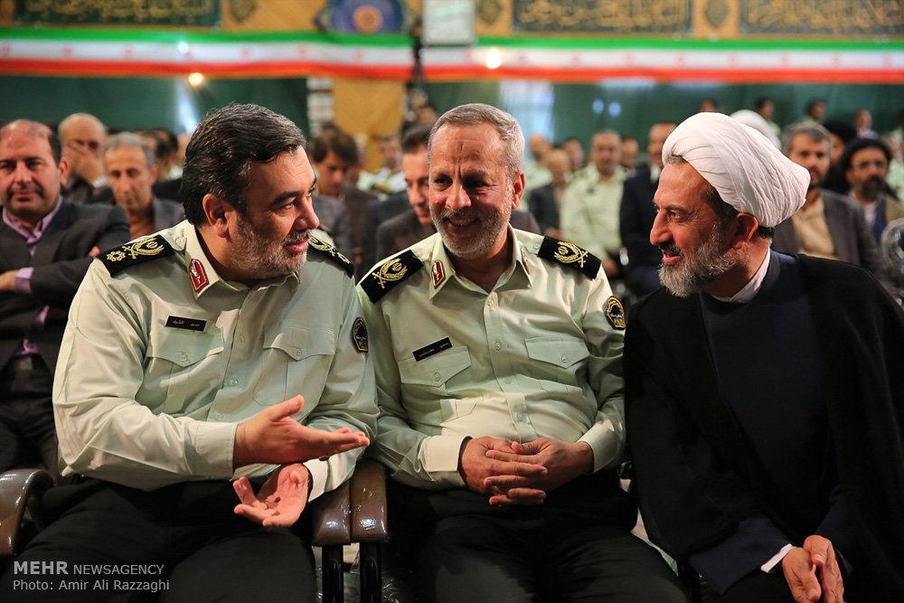 مراسم تودیع و معارفه فرمانده نیروی انتظامی استان مازندران