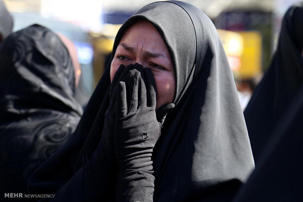 مراسم تشییع پیکر شش شهید مدافع حرم
