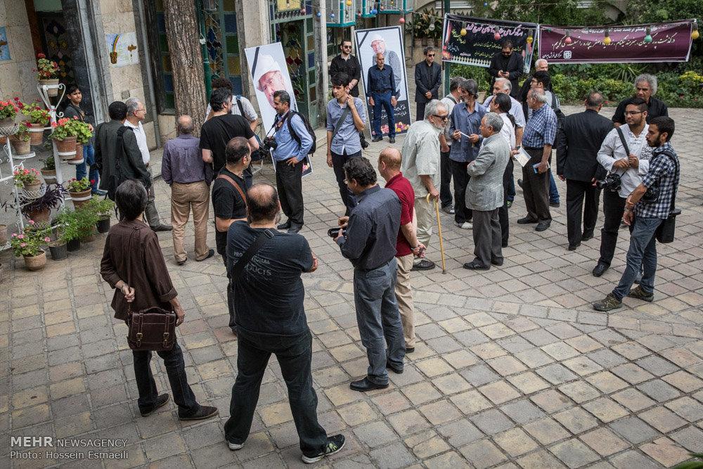 مجلس ترحیم اصغر بیچاره قدیمی ترین عکاس سینمای ایران