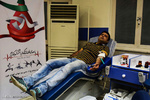 اهدا خون ووشو کاران گلستانی در ماه مبارک رمضان