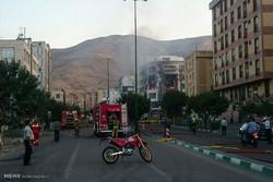 Gas explosion in Tehran