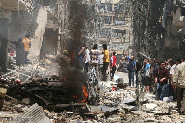 Terrorist attacks in Aleppo kills 3, injures 15