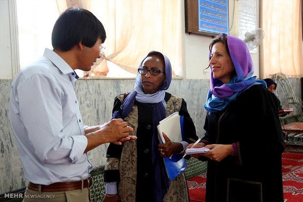 سفر کمیسرعالی امورپناهندگان سازمان ملل به قم