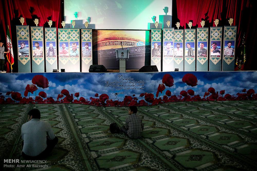 مراسم اربعین شهدای خانطومان