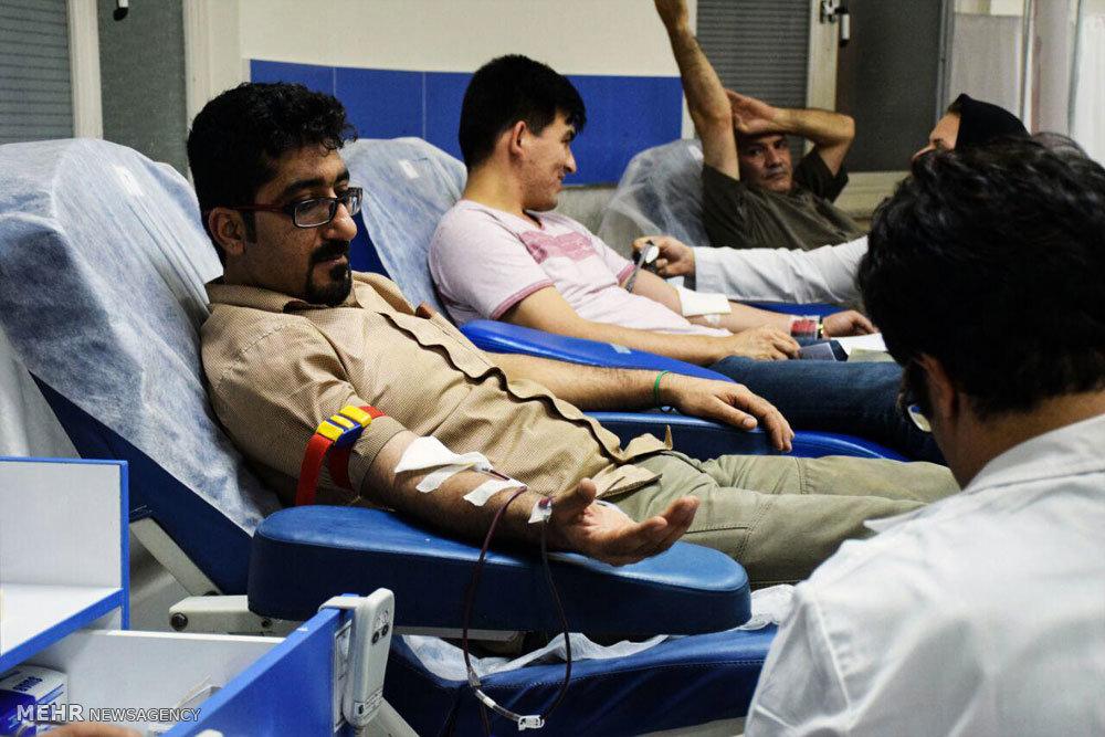 اهدا خون ووشو کاران گلستانی