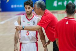 تیم ملی بسکتبال - مهران شاهین طبع