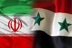 پرچم ایران و سوریه