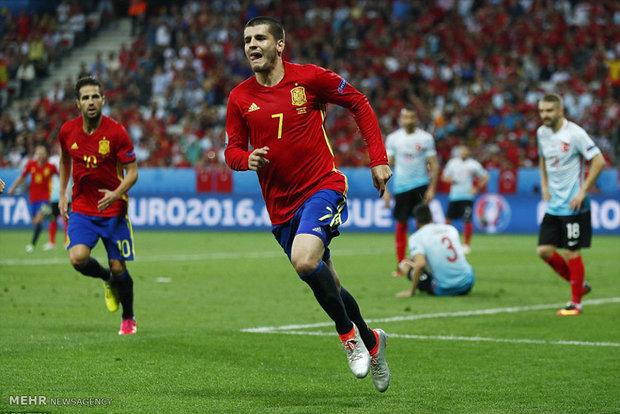 مباراة اسبانيا وتركيا ببطولة كأس أمم اوروبا