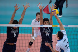 ايران تهزم الارجنتين في الدوري العالمي للكرة الطائرة