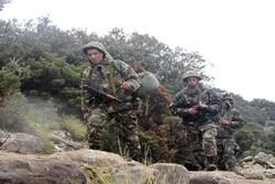 الجیش الجزائري یقضي على 8 تكفيريين شمال البلاد
