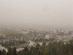 گرد و غبار شمال گلستان را فرا گرفت/ثبت دمای ۴۶ درجه در ۴ شهرستان