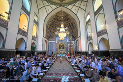 Quran recitation session in Mashhad