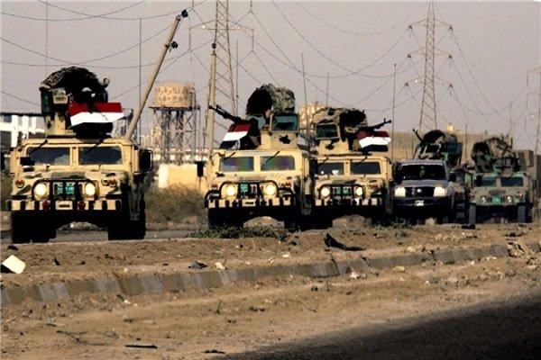 عراقی افواج نےوہابی دہشت گردوں سے 70 فیصد علاقہ آزاد کرالیا