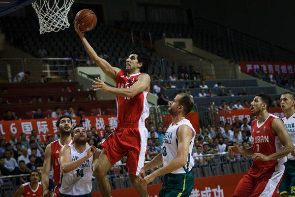 تیم بسکتبال ایران قهرمان تورنمنت اطلس اسپرت شد