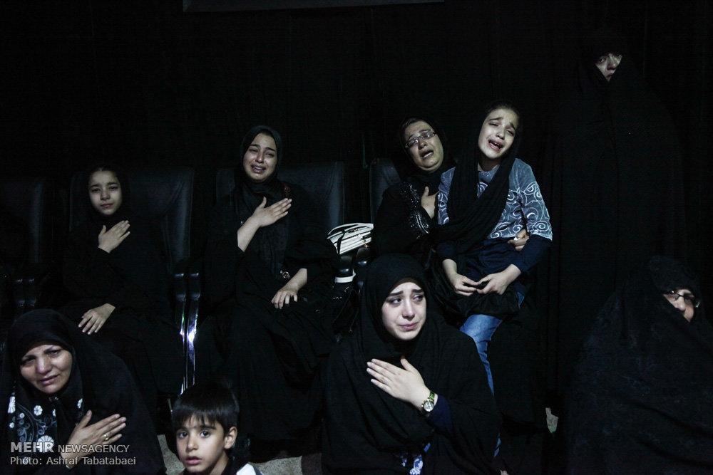 وداع با شهید مدافع حرم مهدی بیدی