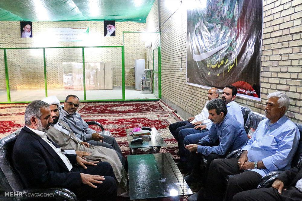 افتتاح رسمی کارگاه ساخت درب حرم امامین عسگریین(ع)