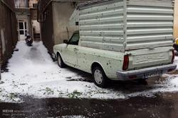 Tebriz'de şiddetli yağmur ve dolu sürprizi!