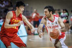 Iranian basketballers thrash Egypt in William Jones Cup