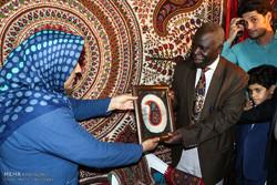 Uganda amb. visits Kerman Quran Exhibition