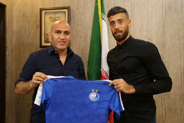Esteghlal signs Arash Afshin - Tehran Times