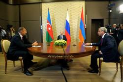 Russia, Armenia, Azerbaijan