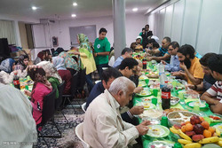 Iftar banquet in Italy