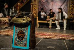 نمایش نقالی خوانی شاهنامه در شب های ماه مبارک رمضان