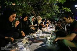 Biggest Iftar ceremony in Tehran