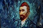 بازآفرینی آثار بزرگ در نقاشی با آب