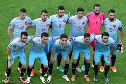 Türkiye-Çek Cumhuriyeti maçından kareler