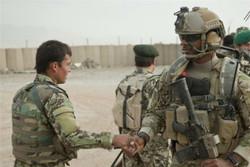 نظامیان آمریکایی افغان