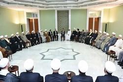 الأسد : على المؤسسات الدينية رفع مستوى وعي البلاد
