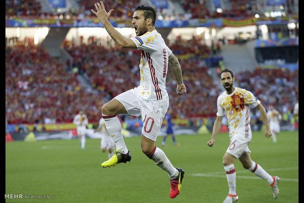 مباراة اسبانيا وكرواتيا في كأس أمم اوروبا