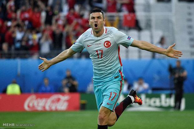 دیدار تیم های فوتبال جمهوری چک و ترکیه
