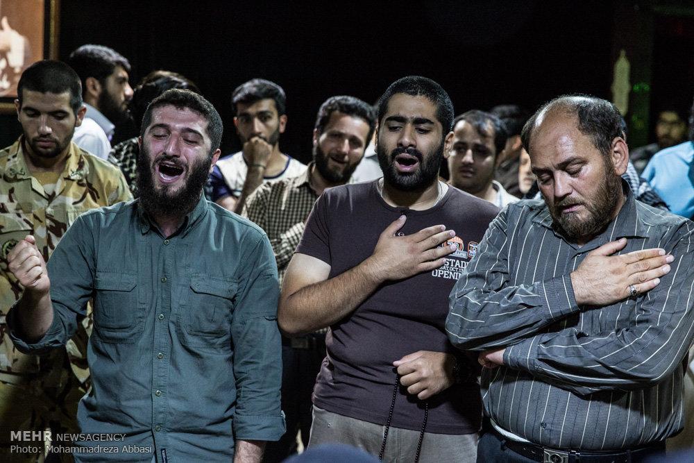 وداع با شهید مدافع حرم عباس آبیاری