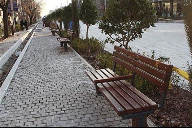اجرای طرح پیاده راهسازی خیابانهای بوعلی و اکباتان شهر همدان